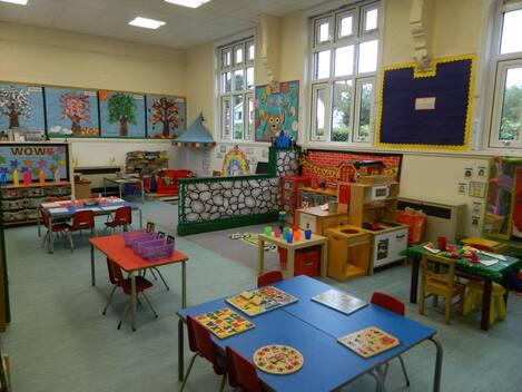 Hyde Heath Preschool class and setting